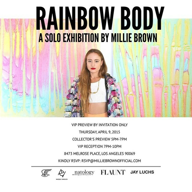 events millie rainbow bodies