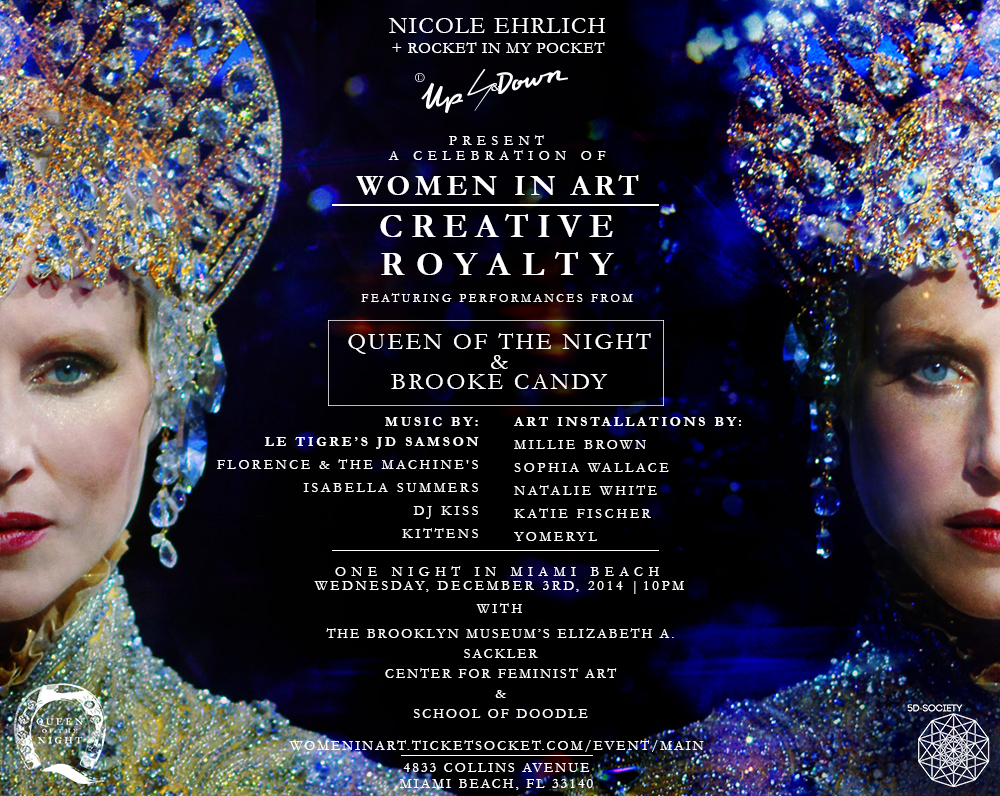 women in art invite